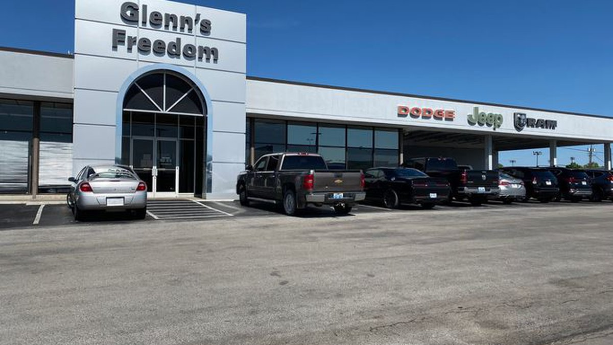 One of the businesses set to reopen is Glenn's Freedom car dealership in Lexington....