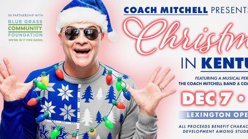 Former UK coach Matthew Mitchell will host a benefit Christmas concert in early December.