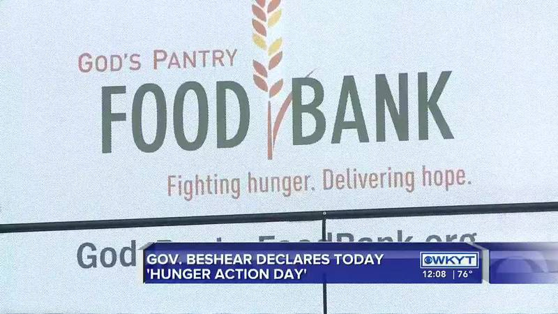 Beshear proclaims Hunger Action Day at site of new God's Pantry Food Bank location in Lexington