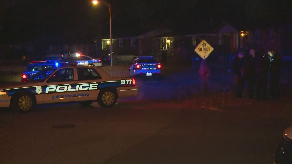 Officers were initially called to an area on Eastin Drive, near Bryan Station Road.