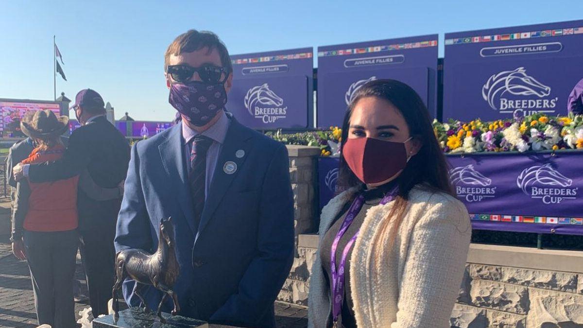 Georgetown's Troy Rankin wins with Fire at Will at Breeders' Cup