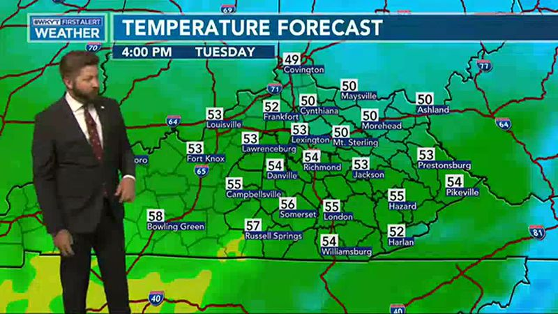 Adam Burniston's Fastcast | Mixed forecast for Thanksgiving week