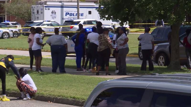 Police say two students, both age 17, have been wounded in a shooting at a Virginia high school...