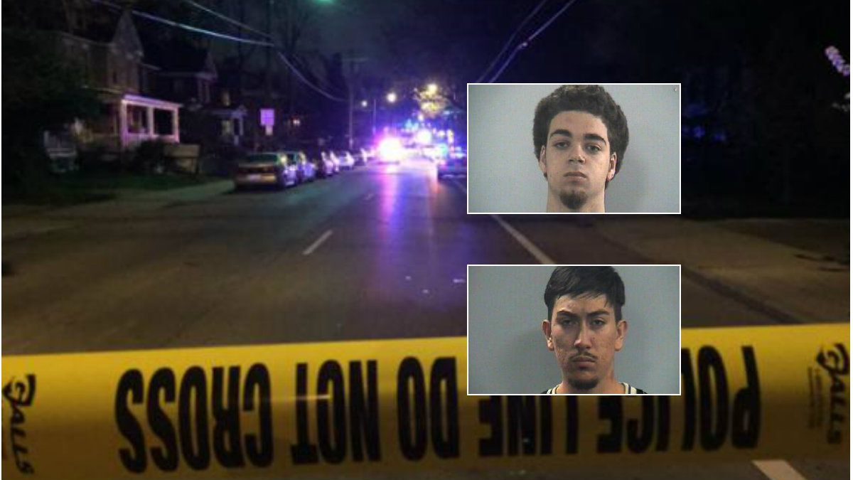 Efrain Diaz, Justin D. Smith and a 17-year-old have been charged with fatally shooting Jonathan Krueger, a junior at the University of Kentucky, on April 17.
