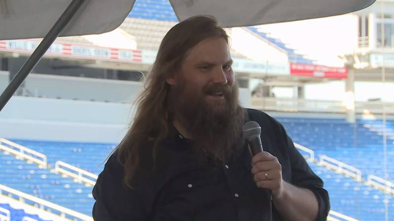 The Chris Stapleton concert scheduled for April 2021 at Kroger Field in Lexington has been...