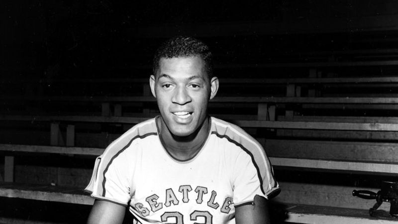 Elgin Baylor - All-American at Seattle 1958