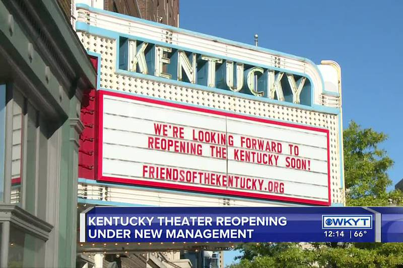 Kentucky Theatre could be reopening soon