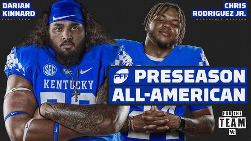Kinnard and Rodriguez have been piling up the preseason accolades.