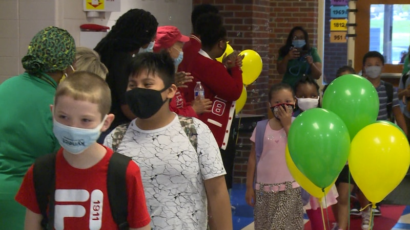 Even though the governor's mask mandate upset some parents, we've heard from students and...