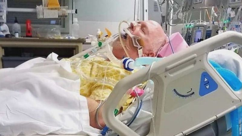 After a double lung transplant, a Louisville man is crediting the process for saving his life...