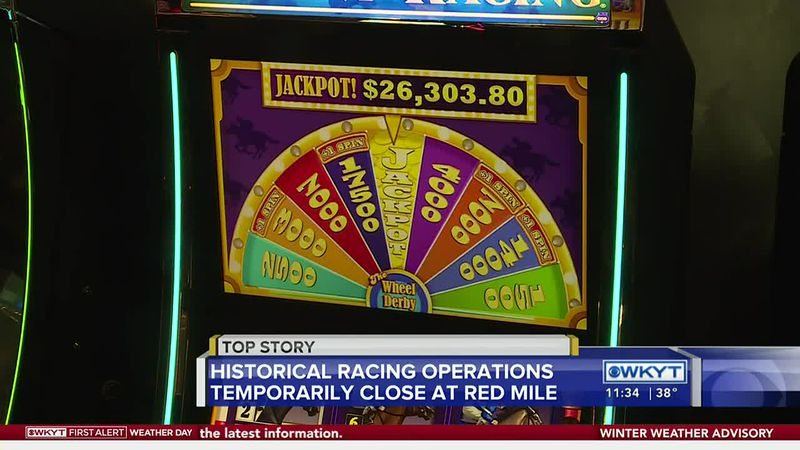 Historical racing operations at Red Mile will temporarily close.