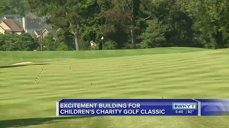 Children's Charity of the Bluegrass Golf Classic starts Friday
