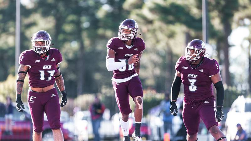 Colonels scored on their first five drives of the half before running out the clock on their...