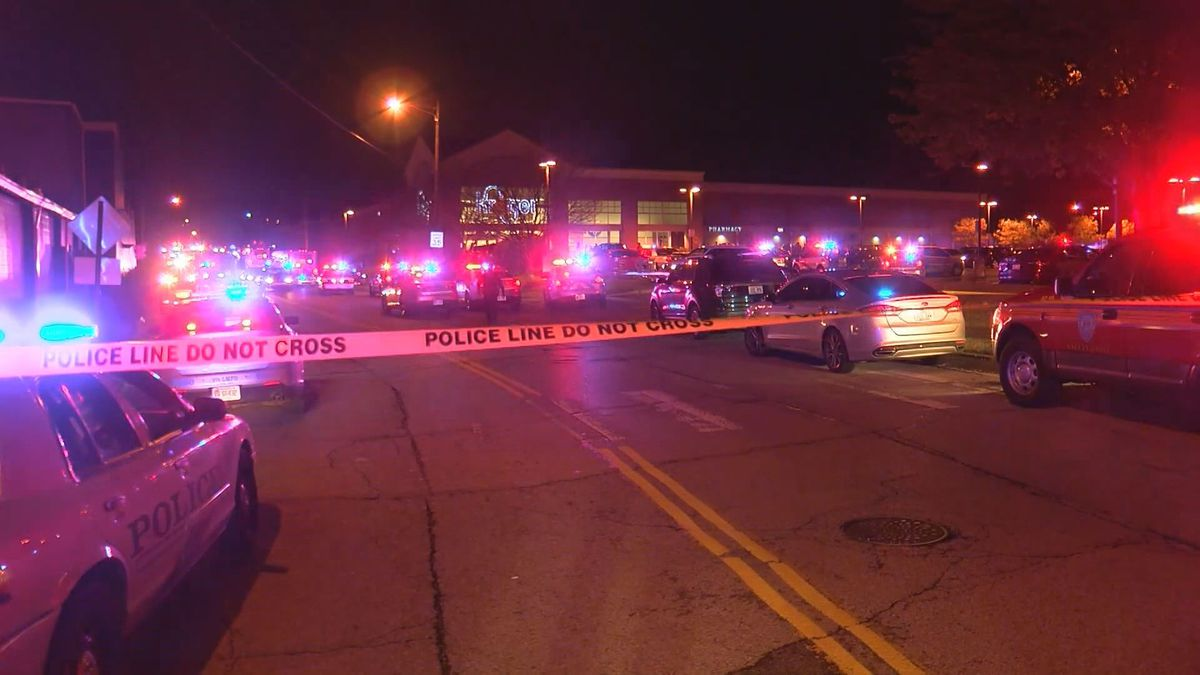Louisville Metro police said the suspect came out of the store, firing a shot at officers. (WAVE)
