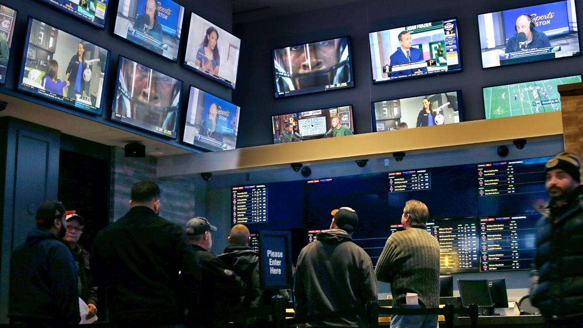 The proposal would allow wagering on college sports teams in Kentucky. (AP Photo/Steven Senne)