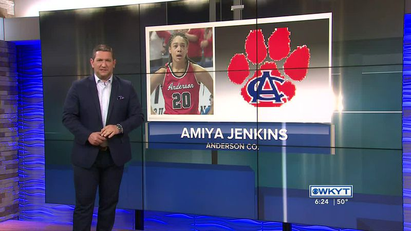 Anderson Co.'s Amiya Jenkins is the WKYT Athlete of the Week