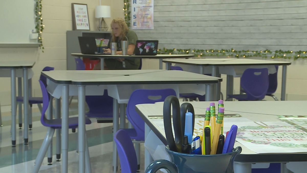 Fayette County Schools employees received an email with instructions to receive the COVID-19...