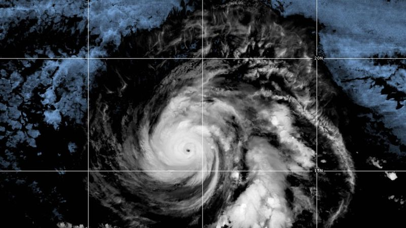 Powerful Hurricane Douglas is barreling toward Hawaii, though wind shear is expected to weaken...