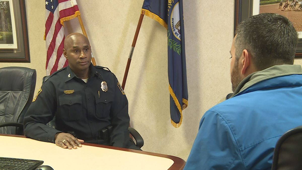 The last few days have been tough ones for Lexington's police chief. (WKYT)
