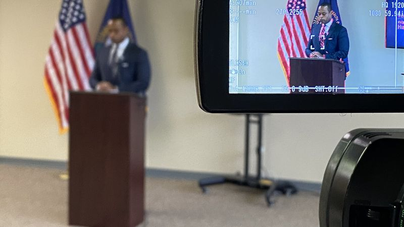 Attorney General Daniel Cameron announced the new campaign and said that he wants everyone in...