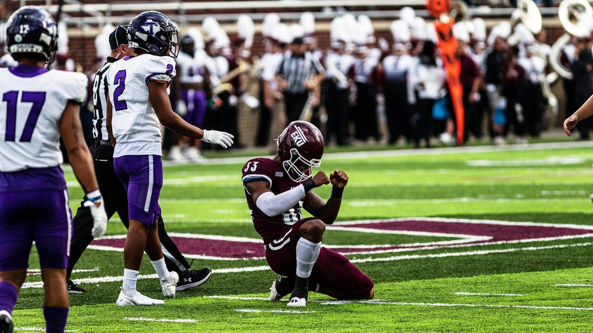 Eastern Kentucky used a suffocating defense and balanced offensive attack to earn a 20-3...