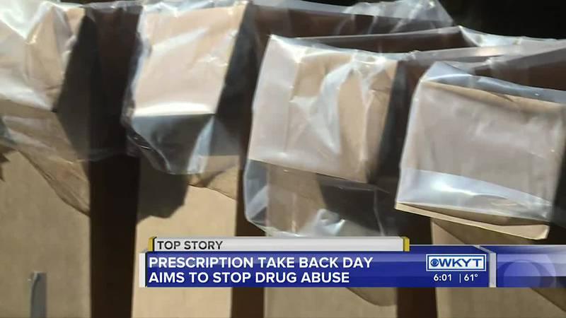 October 23rd is National Prescription Take Back Day.