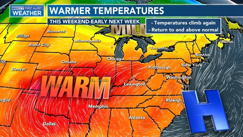 A warmer run is coming