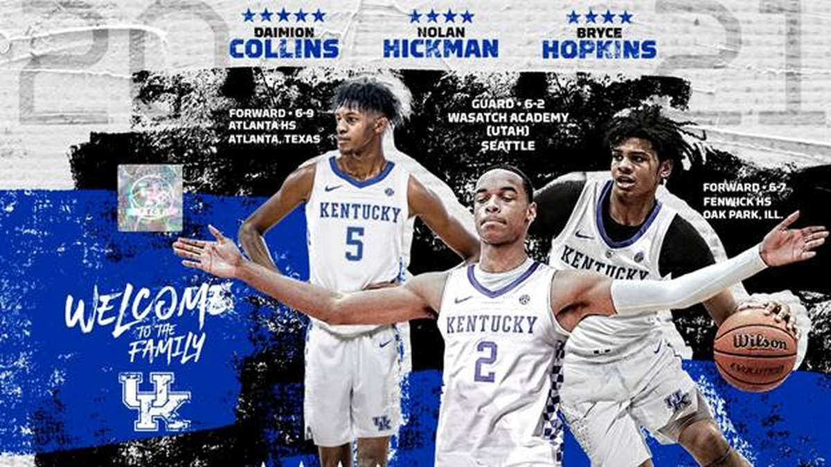 Collins, Hickman, Hopkins signed national letters of intent on Wednesday