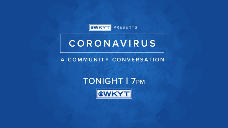 join us for Coronavirus: A Community Conversation.
