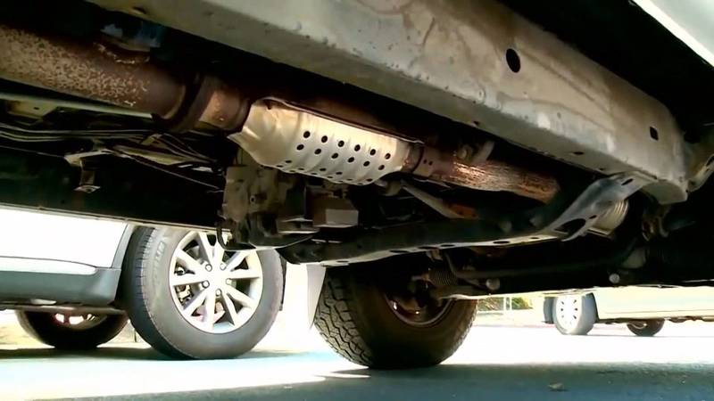 Investigators report a surge in catalytic converter thefts in recent months.