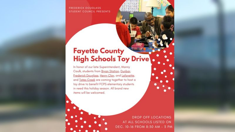 Fayette Co. High Schools toy drive