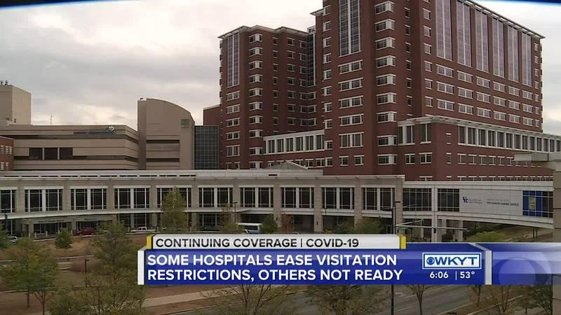 Kentucky hospitals reviewing visitation policies as COVID-19 cases decrease