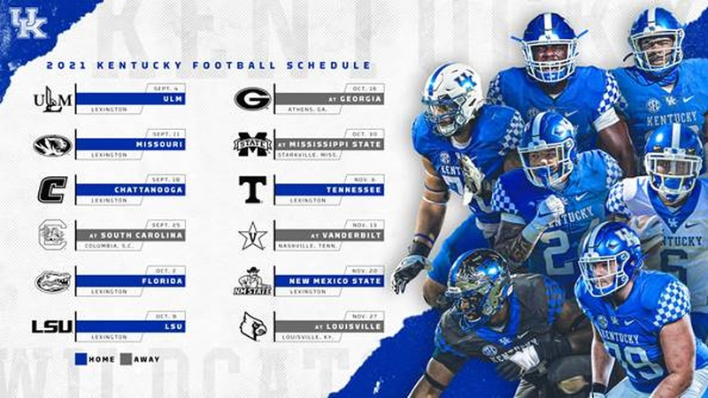 The Wildcats kick off the season on Sept. 4 against the ULM Warhawks