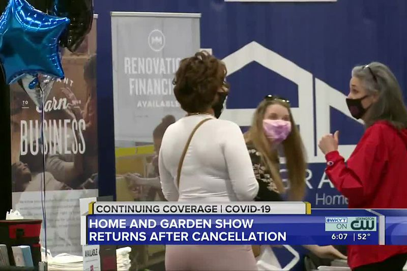 The Central Kentucky Home and Garden Show was back at the Central Bank Center. This marks the...