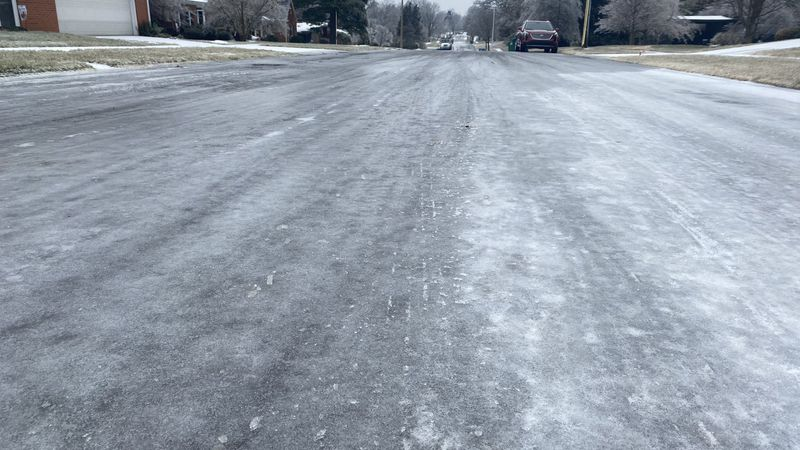 Side roads and neighborhoods throughout Lexington are still very messy.