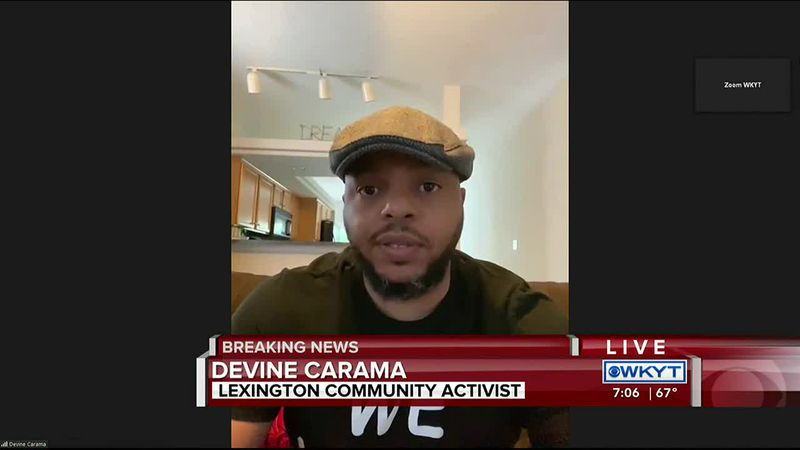 WATCH The Breakdown | Community activist Devine Carama