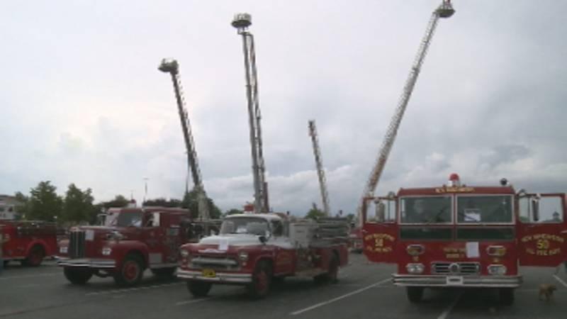 Lexington Fire Department kicks off week-long celebrations for their 150th anniversary.