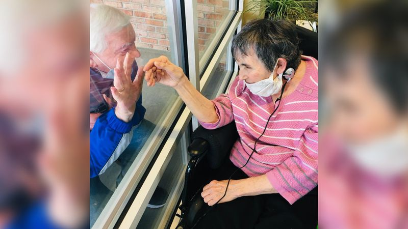 Gene Bailey's wife, Nancy, is a resident at the long-term care facility. She was one of the 93...
