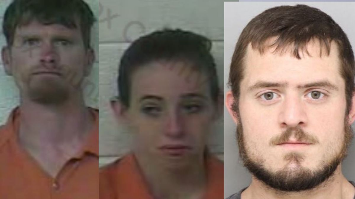 Michael Nason (left), Tiffany Cheek (center), Carl Hickman (right)