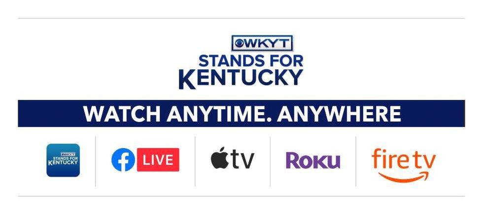 Get the WKYT News app on ROKU, Apple TV and Amazon Fire.