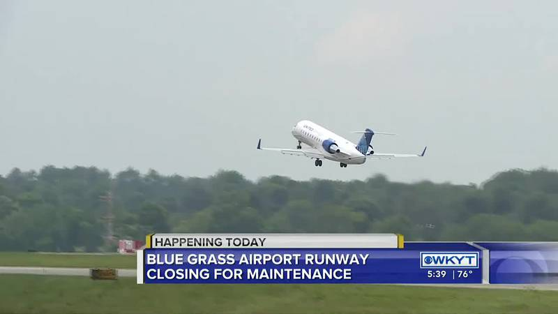 Blue Grass Airport closes for maintenance