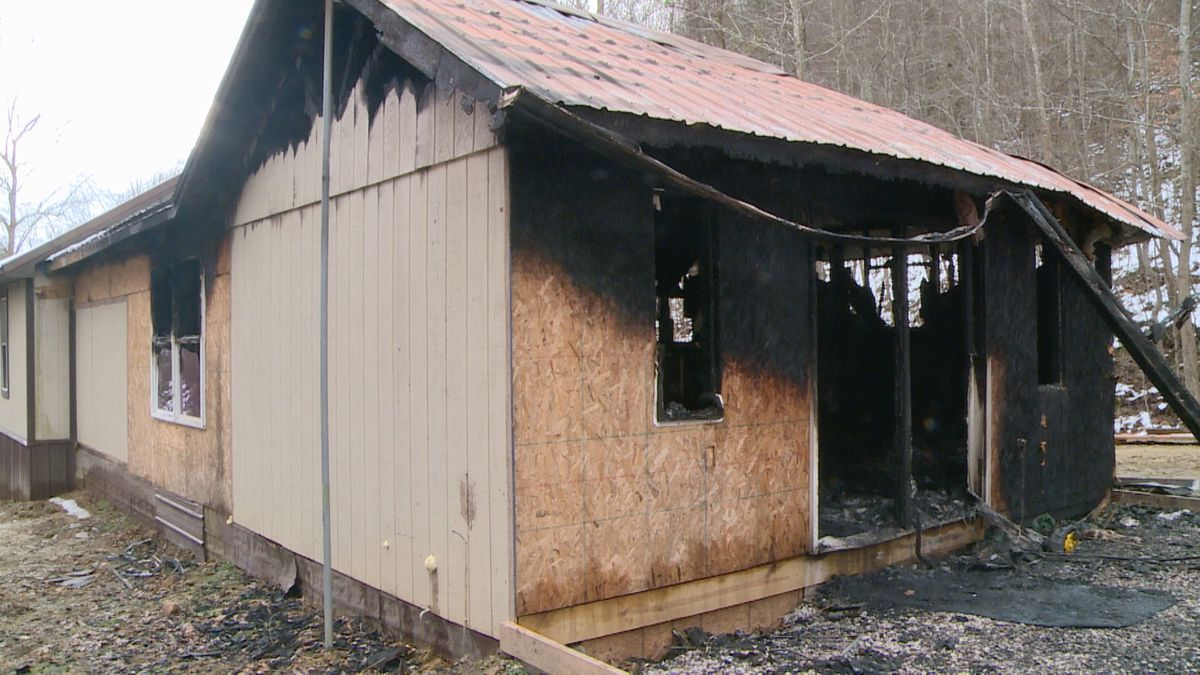 A family's home was destroyed by a fire two days after they moved in.
