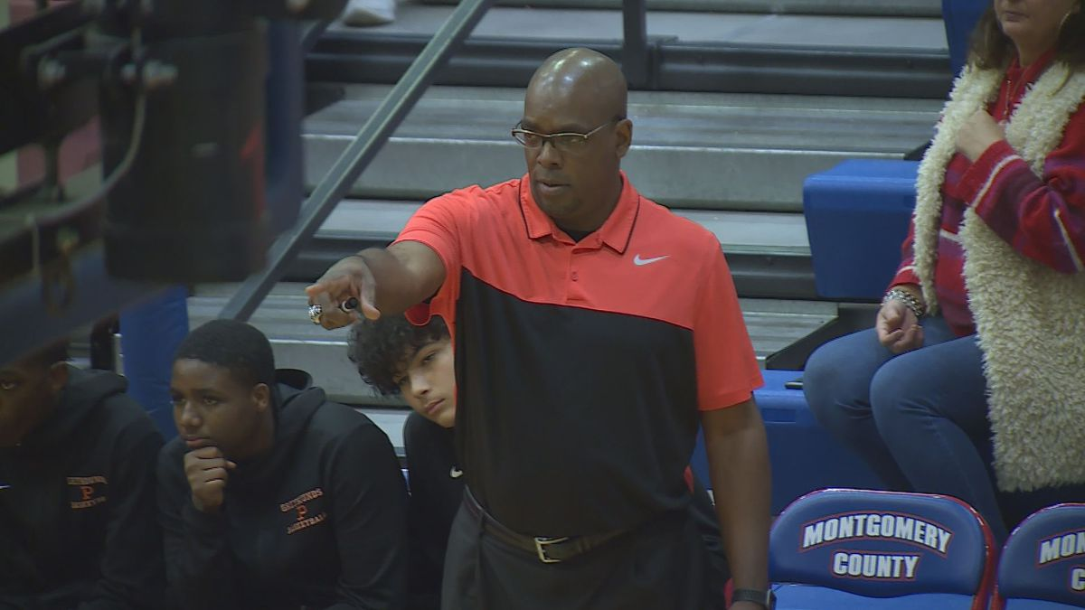 Terence Brooks is the new head coach at Harrison County.