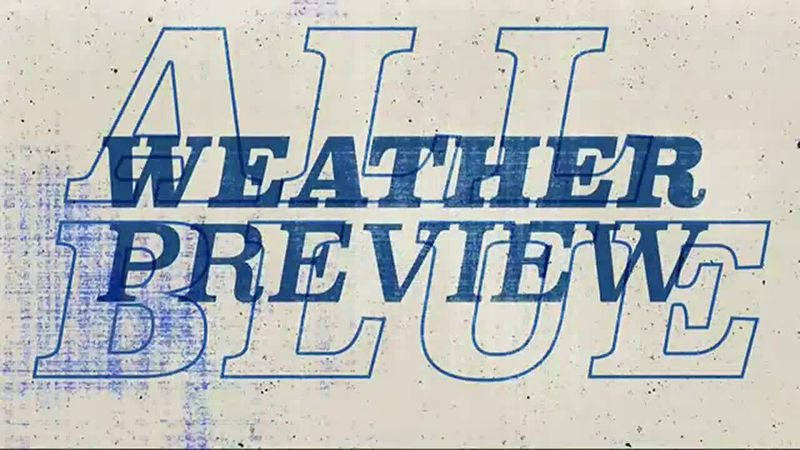 All Blue Weather Preview