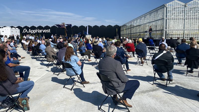 Morehead is now the home of one of the largest controlled-environment agriculture facilities in...