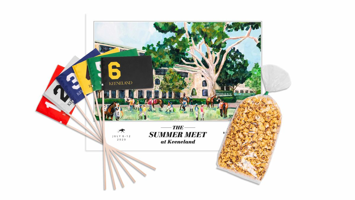 Keeneland has announced Keeneland at Home, which offers a variety of ways for fans to remotely enjoy Keeneland's five-day Summer Meet, to be held July 8-12.
