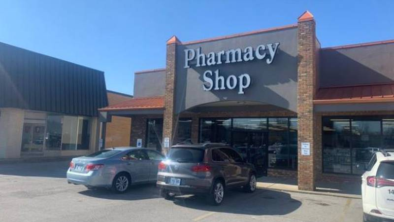In Lexington, the Pharmacy Shop will soon be ready to give customers their booster shots....