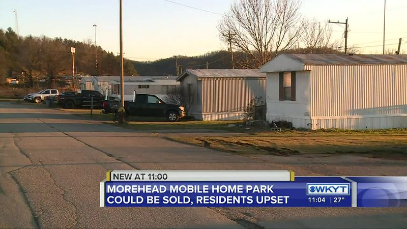Morehead mobile home park tenants worry about being displaced