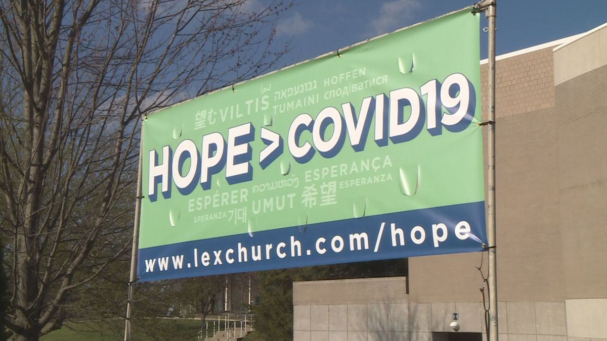 A Lexington church is hoping to add encouragement in a time that can feel isolating for many in the city.