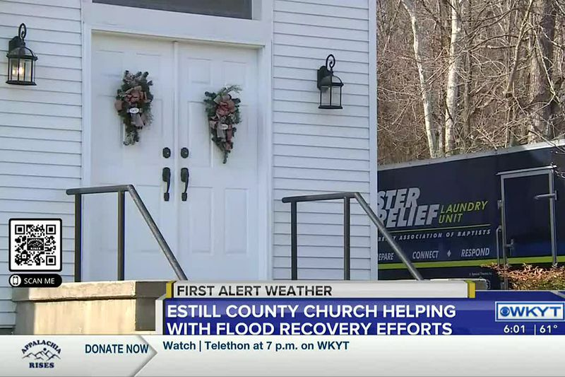 In Estill County, flood waters trapped entire neighborhoods underwater for days, now the water...